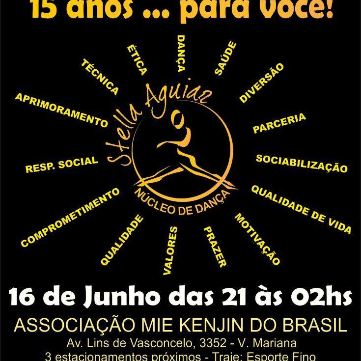 15 anos de N.D.S.A – BAILE DE ANIVERSÁRIO – 2012