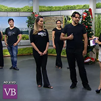 "WEST COAST SWING no programa ""VOCÊ BONITA"""