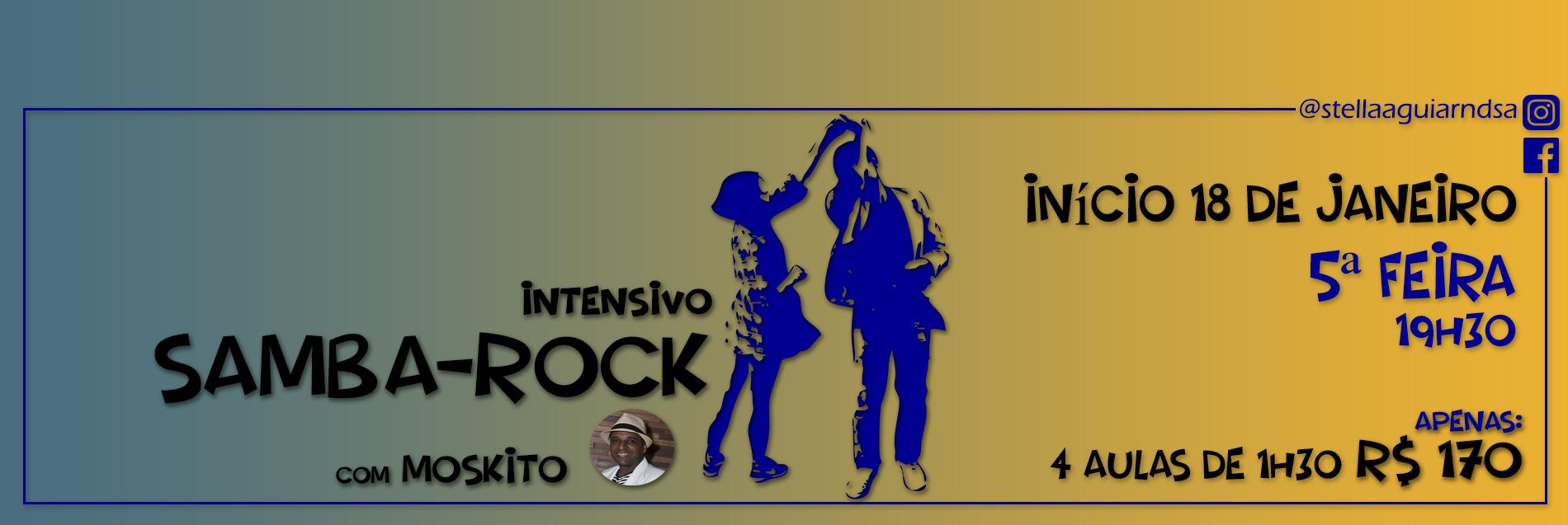 Intensivo samba-rock